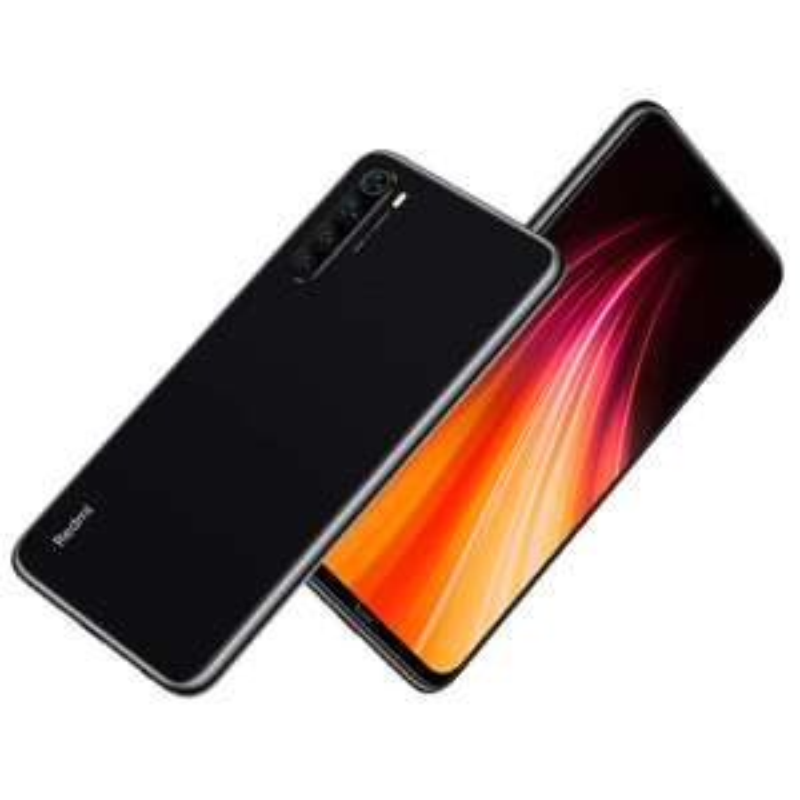 "Smartphone 6.3"" Xiaomi Redmi Note 8 - Full HD+, SnapDragon 665, 4 Go de RAM, 64 Go, 4G avec B20/B28, Noir"
