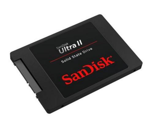 """SSD interne 2.5"""" SanDisk Ultra II (Mémoire TLC) - 960 Go"""