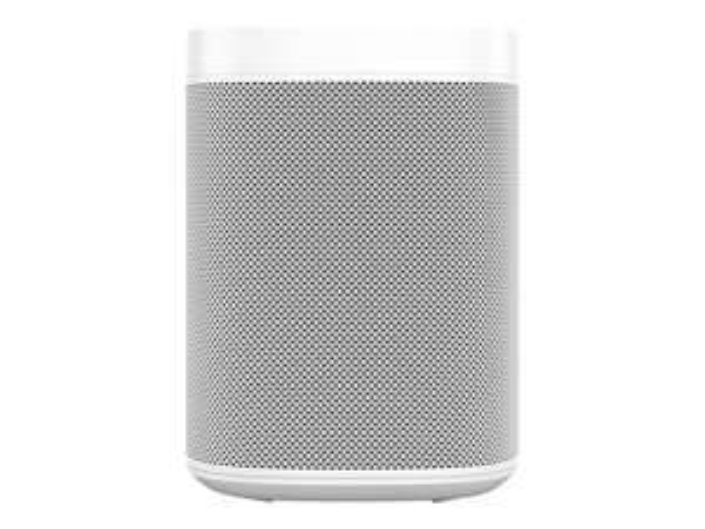 Enceinte sans-fil multiroom Sonos One (Gen 2) - Wifi, Compatible Alexa, Blanc (+ 37,20€ en SuperPoints)