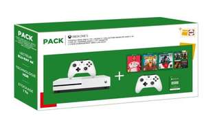 Console Xbox One S (1 To) + Manette supplémentaire + FIFA 20 + Borderlands 3 + Gears 5 Ultimate Edition + 3 Mois d'abonnement Live Gold