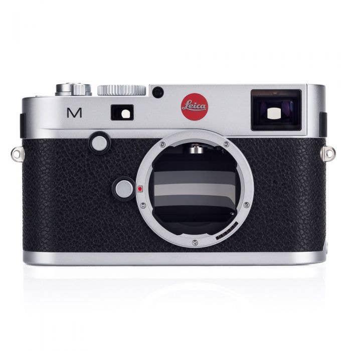 Appareil Photo Leica M (Type 240) - Chromé argent (Boitier nu)