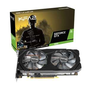 Carte graphique KFA2 GeForce GTX 1660 1-Click OC - 6 Go (197.54€ avec le code WELCOMESEP)