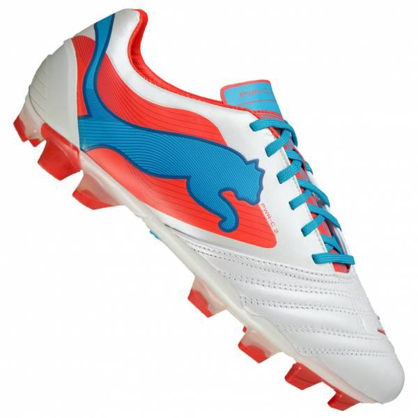 Chaussures de Football Puma PowerCat 2 FG en Cuir pour Hommes - Tailles au choix
