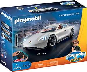 Playmobil - The Movie Rex Dasher et Porsche Mission E, 70078 (Version Allemande)