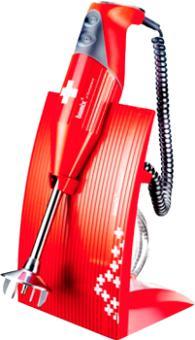 Mixeur plongeant Bamix SwissLine 180 - Rouge