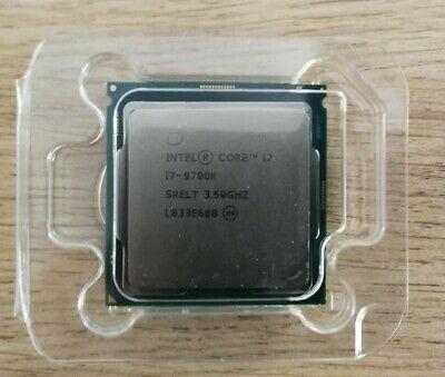 Processeur Intel i7-9700K - 3.6 GHz, socket 1151
