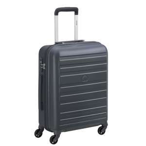 Valise cabine Delsey Peric - 4 roues, 40 L, 55 cm, anthracite