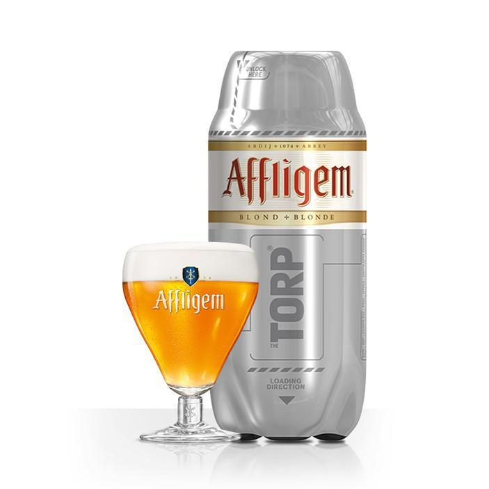 2 Torp Bière de 2L, Affligem, Heineken, Desperados ou Pelforth