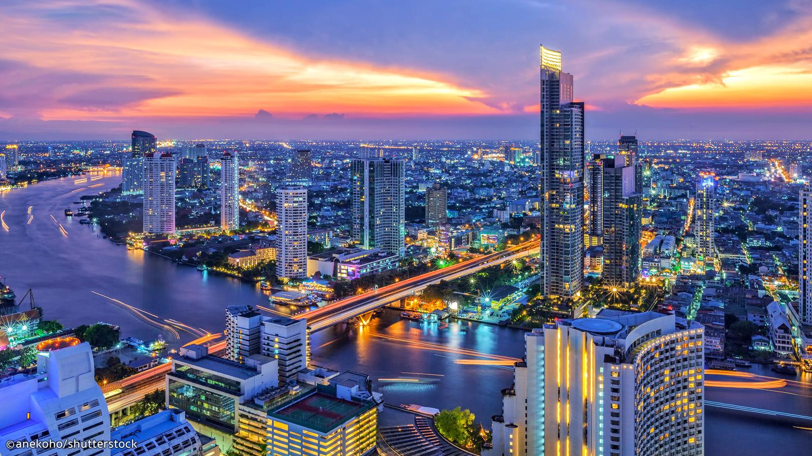 A/R Paris (CDG) <> Bangkok (BKK) en vol direct avec Thaï Airways du 09/03/20 au 23/03/20