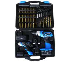Perceuse sans fil 14,4 V + visseuse  4,8 V +2 batteries