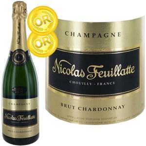 Bouteille de Champagne Nicolas Feuillatte Brut Chardonnay Millésime 2005 - 75cl