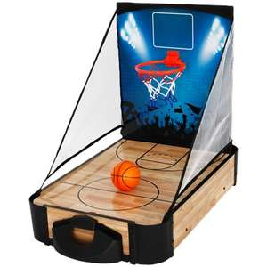 Jeu de table 2-en-1 : Air hockey + Basket