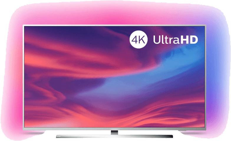 "TV 50"" Philips 50PUS7354 - 4K UHD, LED, Smart TV, Ambilight 3 côtés"