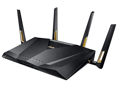 Routeur Gaming Asus RT-AX88U Wi-Fi 6 - Ai Mesh, 8 Ports Gigabit, USB 3.0