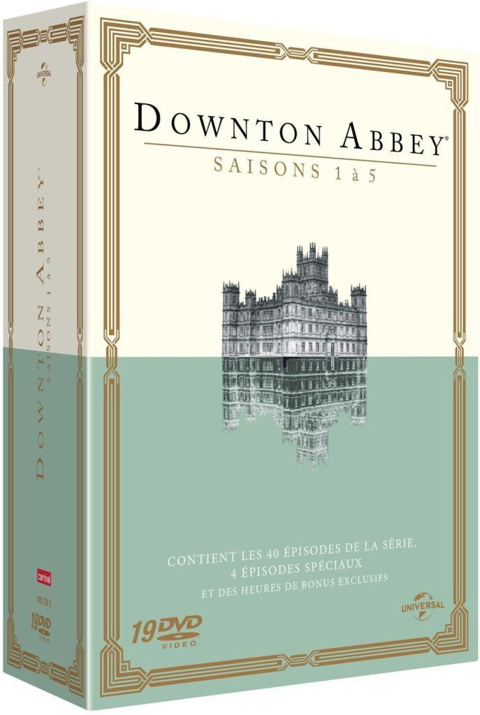 Coffret DVD : Downton Abbey - Saisons 1 à 5