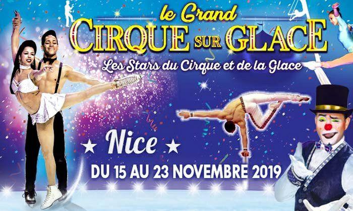 Place tribune d'honneur pour Le Grand Cirque sur Glace - Nice (06)