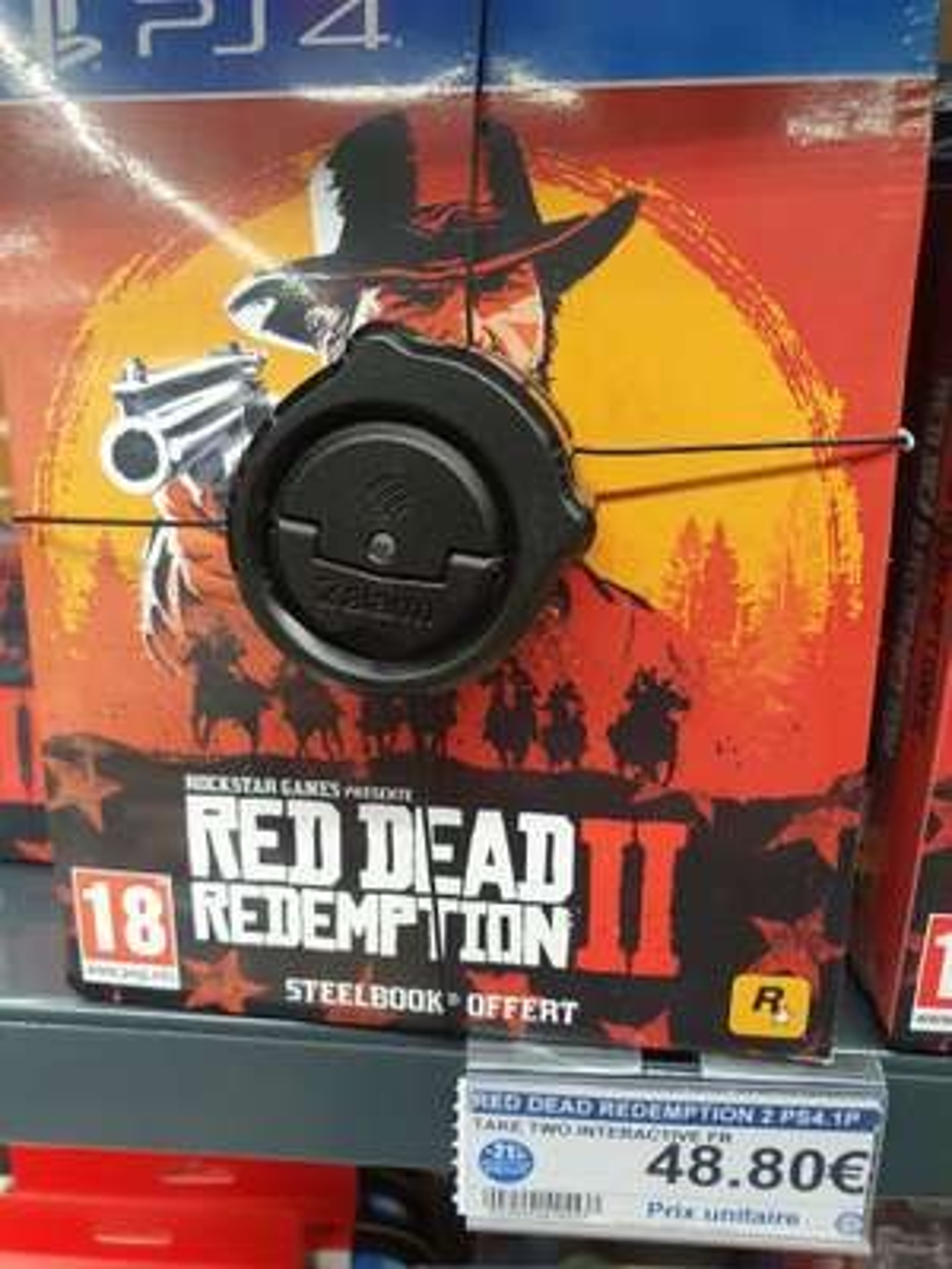 Red Dead Redemption 2 (avec steelbook) - Orvault (44)