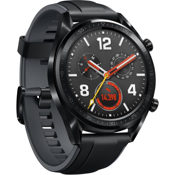 Montre connectée Huawei Watch GT - 46.5mm, GPS, Cardio au poignet