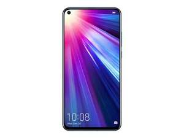 "Smartphone 6.4"" Honor View 20 Bleu Saphyr - Full HD+, Kirin 980, RAM 6Go, 128Go + 13€ en Super Points"