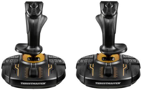 Lot de 2 Joysticks Thrustmaster T.16000M FCS Space Sim duo pour PC (79,92€ avec le code WELCOMESEP)