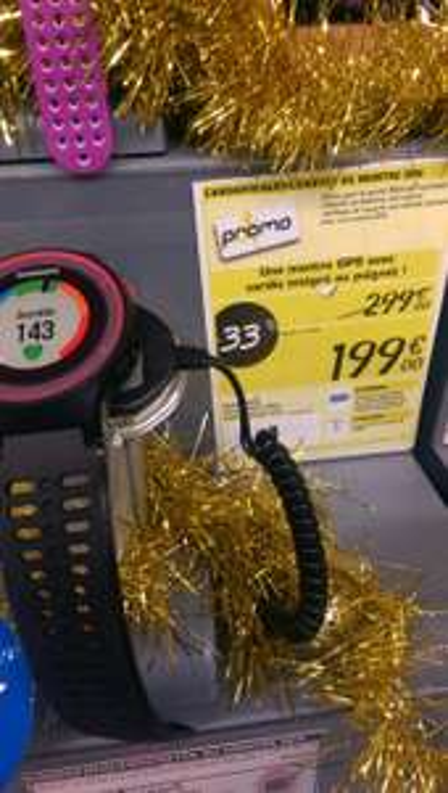 Montre Cardio GPS forerunner 225  (coloris au choix)