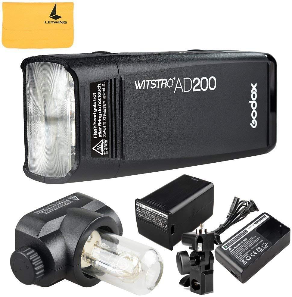 Flash studio portatif sans-fil Godox Wistro AD200 - Batterie 2900mAh (Vendeur tiers)
