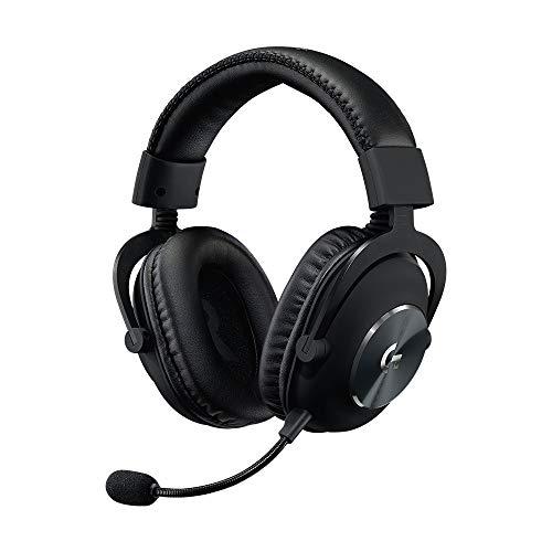 Casque gaming filaire Logitech G Pro X - Blue Voice, Headphone:X 7.1