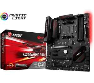Carte mère MSI X470 Gaming Pro - Format ATX, Socket AM4 (116.99€ avec le code WELCOMESEP)