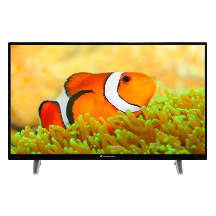 "TV 43"" Continendal Edison - 4K UHD, WiFi"