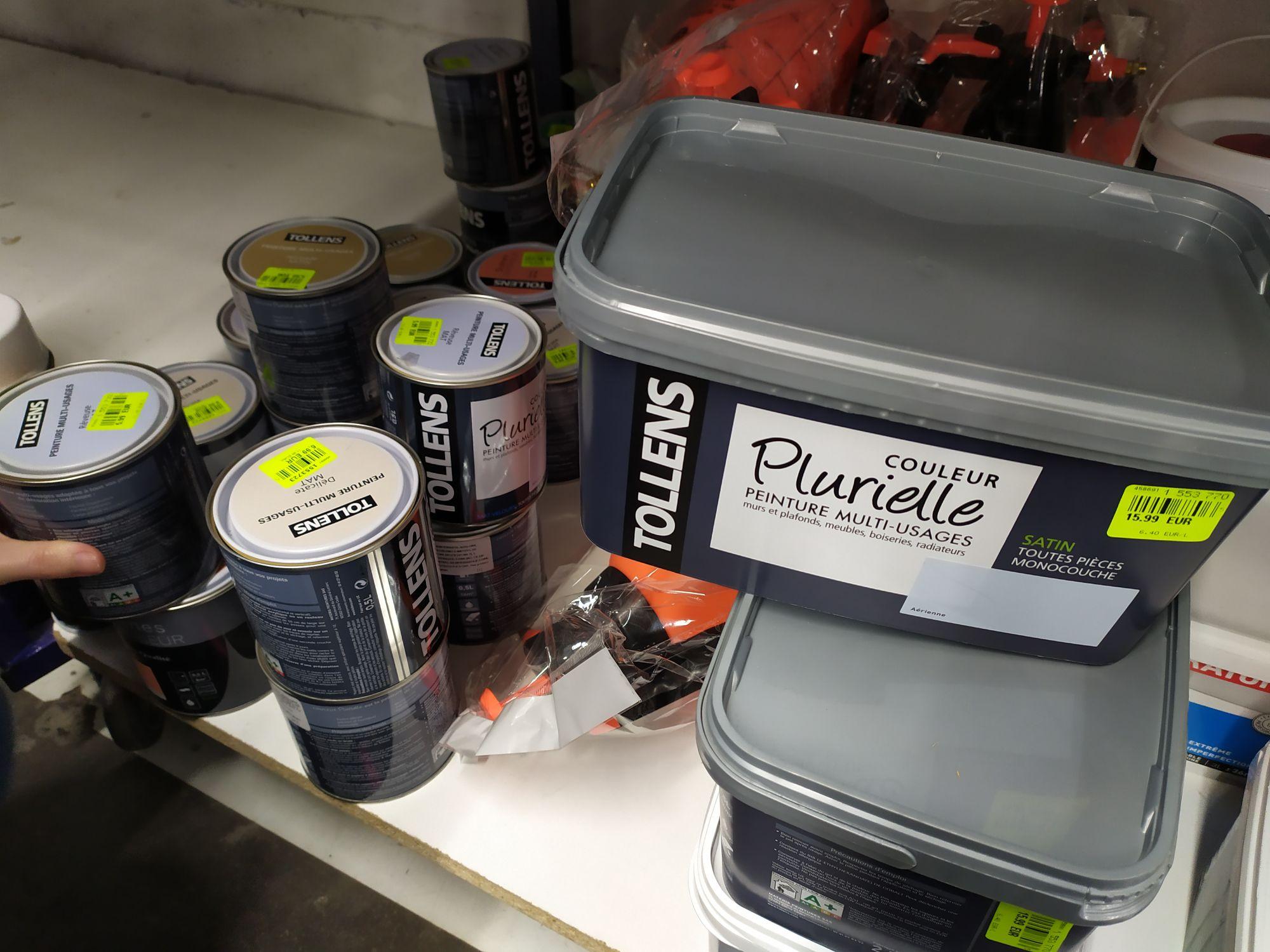Pot de peinture Tollens - 0.5l, noz (national)