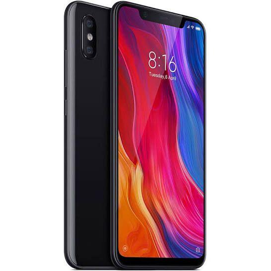 """Smartphone 6.21"""" Xiaomi Mi8 - 6 Go de Ram, 128 Go, Noir (Entrepot Espagne)"""