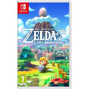 The Legend of Zelda: Link's Awakening sur Nintendo Switch (35.99€ avec le code WELCOMESEP)