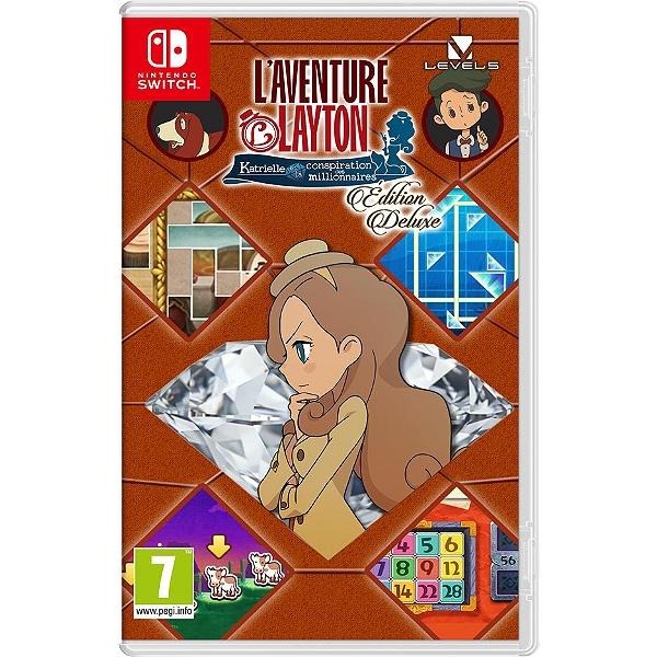 [Précommande] L'Aventure Layton : Katrielle et la conspiration des millionnaires - Edition Deluxe sur Nintendo Switch