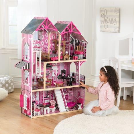 Maison de poupée en bois son et lumière Kidkraft - Bella