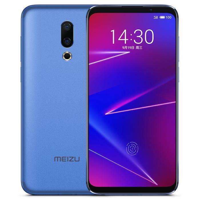 "Smartphone 6"" Meizu 16x (Coloris au choix) - FHD+ Super Amoled, 64 Go ROM, 6 Go RAM, SnapDragon 710, 4G (B20)"
