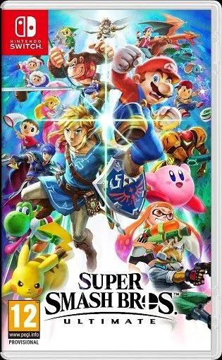 Super Smash Bros Ultimate sur Nintendo Switch (43.99€ avec le code WELCOMESEP)