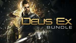 Bundle Deus Ex: Deus Ex GOTY + Invisible War + Human Revolution Director's Cut + Mankind Divided sur PC (Dématérialisé - Steam)