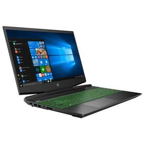 "PC Portable Gaming 15.6"" HP Pavilion 15-DK0030NF - Intel Core i5-9300H, RAM 8 Go, HDD 1 To + SSD 128 Go, GeForce GTX 1660Ti 6 Go, Windows 10"