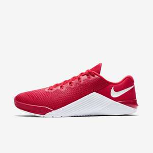 Chaussures d'entrainement Nike MetCon 5 - Rouge, taille au choix
