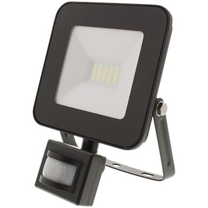 Projecteur LED avec capteurs de mouvements - 15W, 1200 lumens, étanche