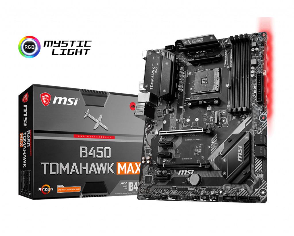 Carte mère MSI B450 Tomahawk Max - socket AM4