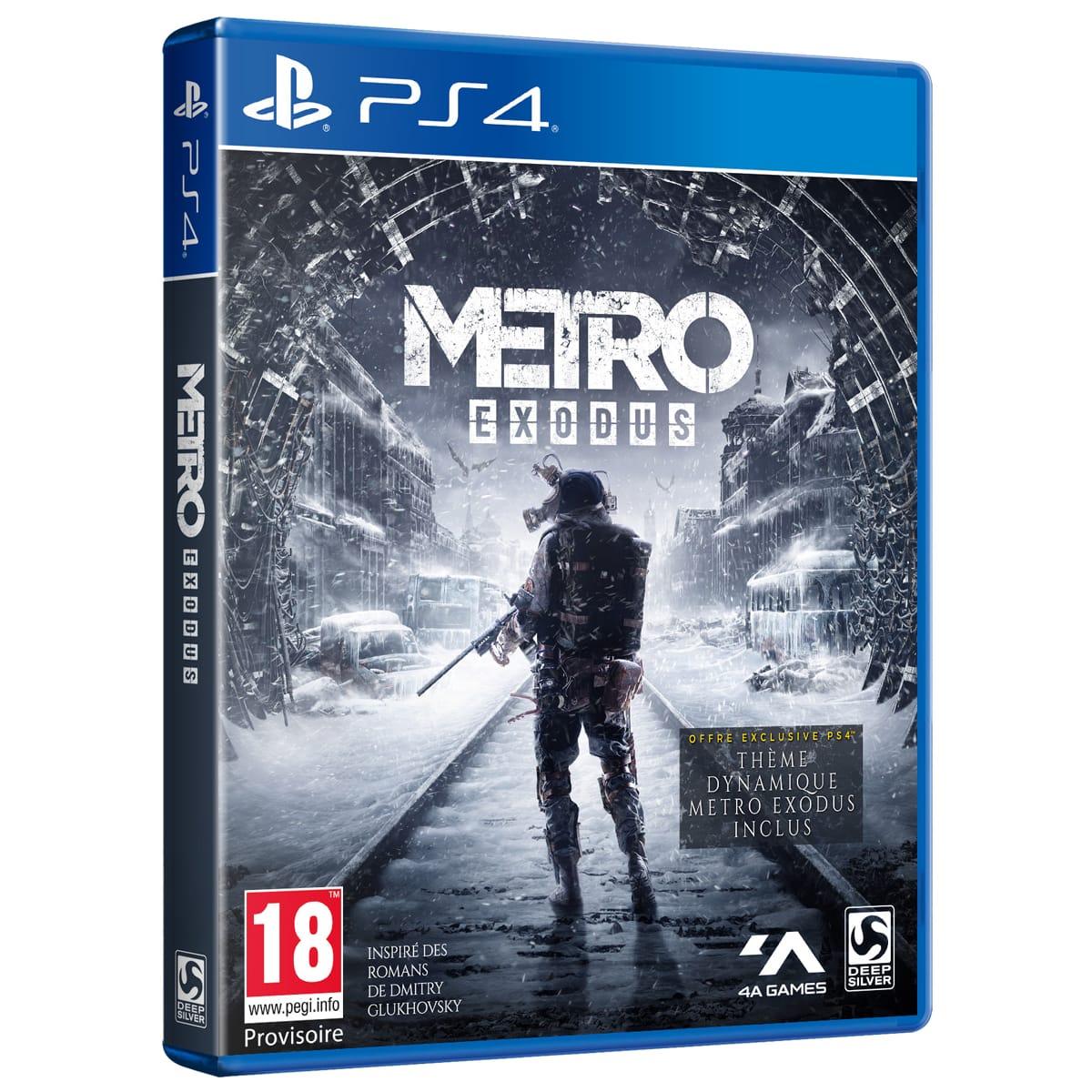 Metro Exodus sur PS4 100% remboursé Via 4 bons d'achat de 12,50€