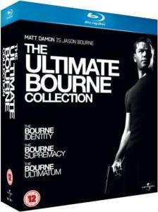 Coffret Blu-Ray Trilogie Jason Bourne