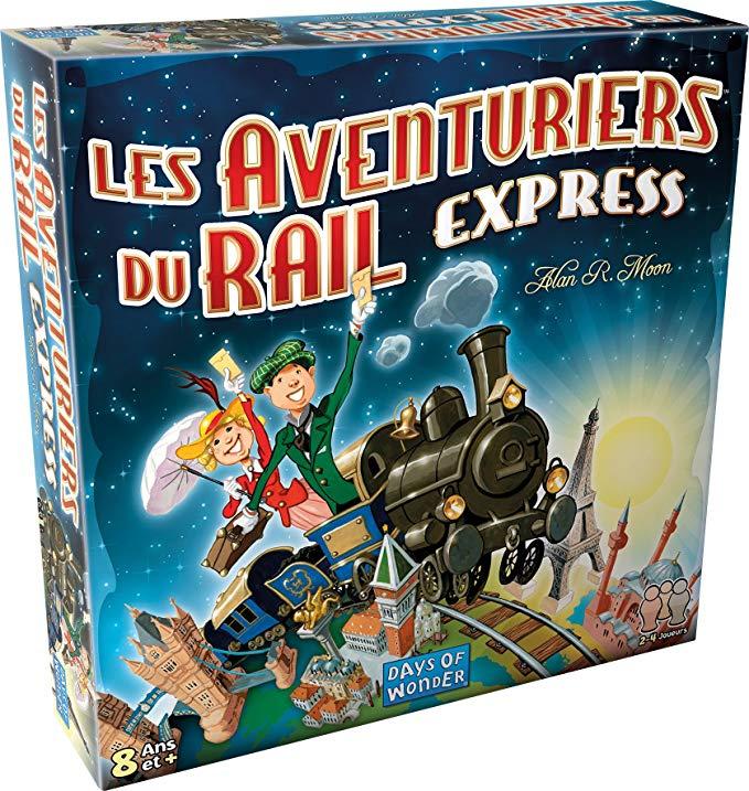 Jeu de société Days of Wonder Les Aventuriers du Rail Express (via 4.18€ sur la carte de fidélité)