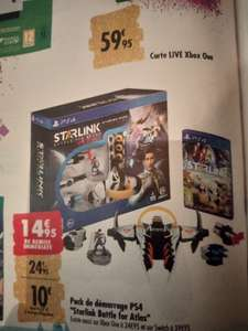 Pack de démarrage Starlink Battle for Atlas sur PS4