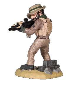 Figurine Call of Duty : Modern Warfare - Capitain Price