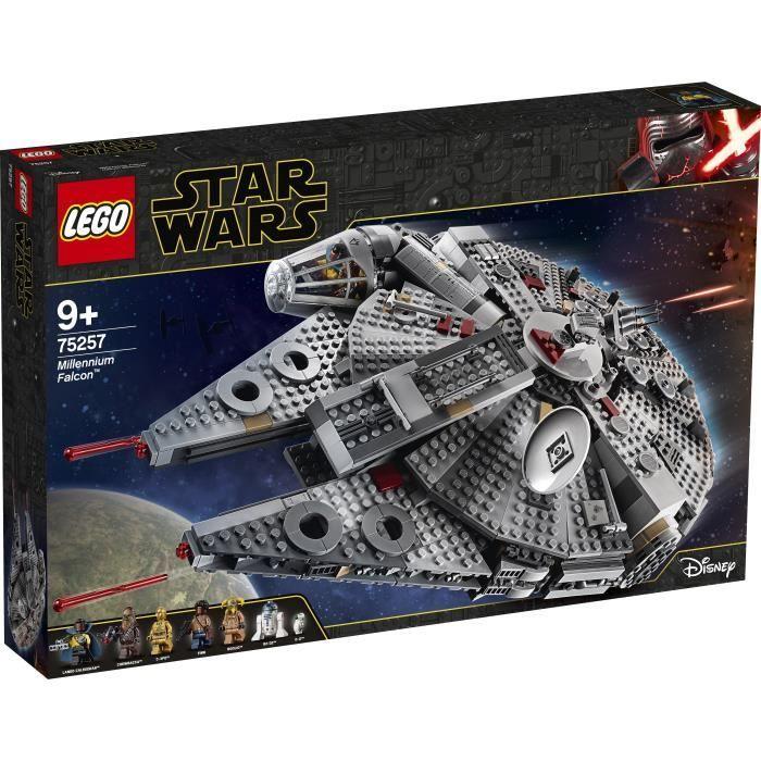 Jeu de Construction Lego Faucon Millenium Star Wars 75257
