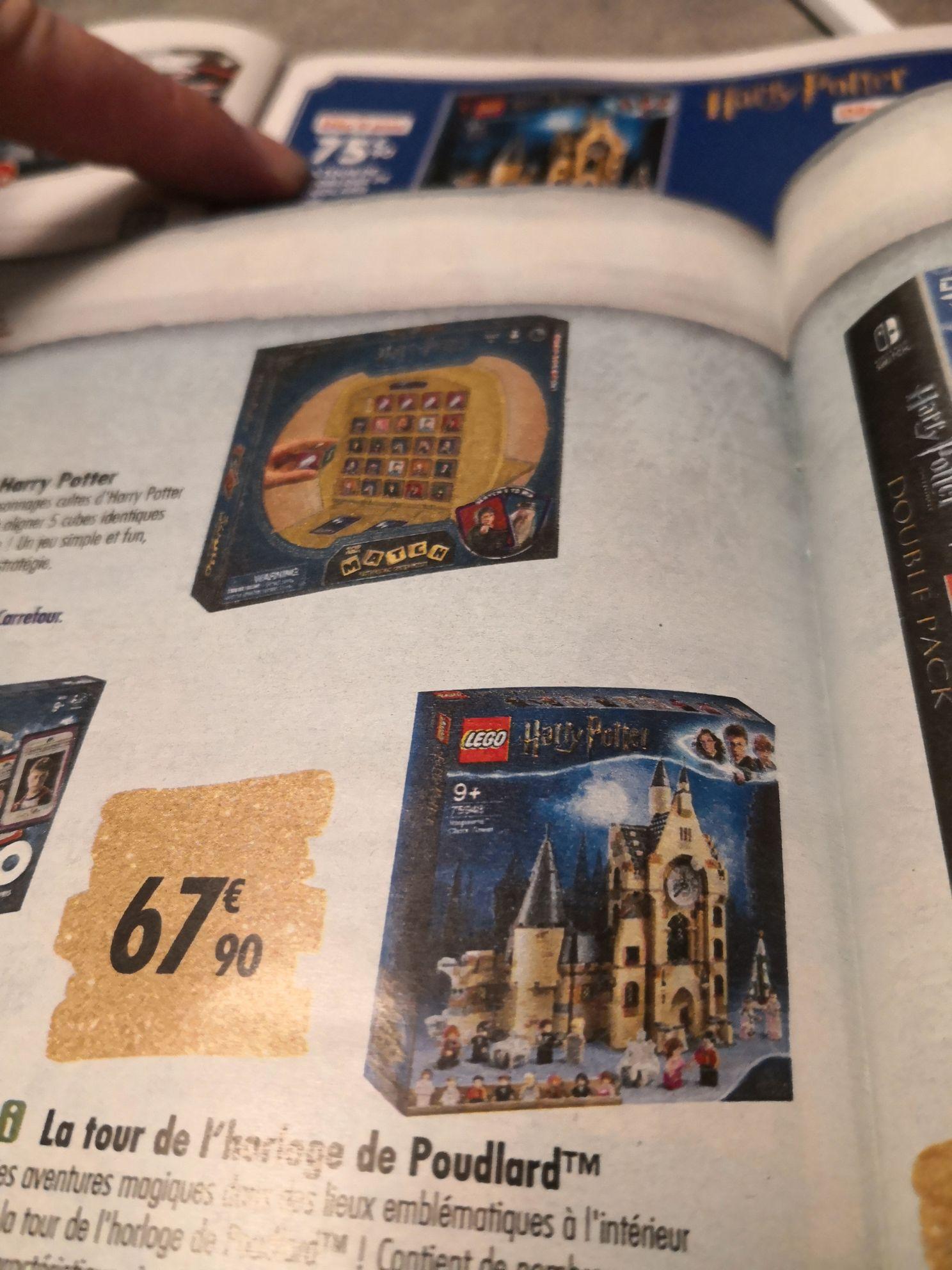Jouet Lego Harry Potter - La tour de l'horloge de Poudlard (75948)