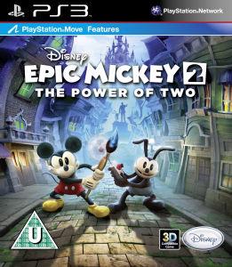Epic Mickey 2 sur Wii à 16.25 € et PS3 et XBOX
