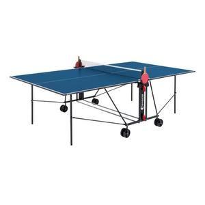 Table de Tennis de table (Ping-Pong) Sponeta - Bleu et Noir, Compacte, Usage intérieur (+ éventuelle offre spéciale)